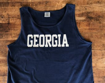 Georgia Comfort Color Tank