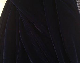 Velvet for making clothing wide 110
