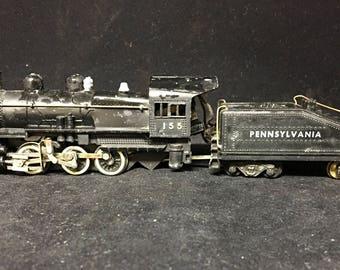 Varney Pennsylvania HO scale 0-4-0 Loco & 8-Wheel Tender