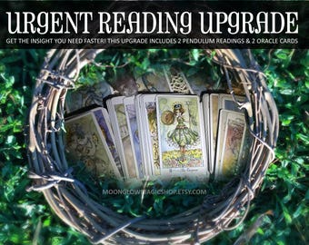 Urgent Reading, Emergency Reading, Tarot Reading, Psychic, Psychic Reading, Fortune Telling, Same Day Reading, Same Day Psychic