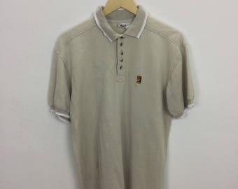 Vintage Nike Atp Challenge Court Polo Shirt Size M