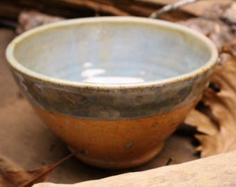 Pale Copper Green Bowl