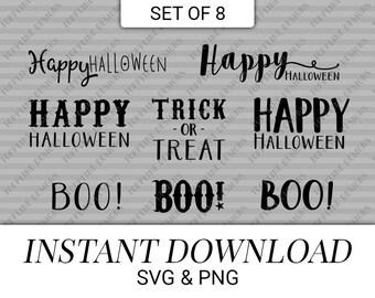 Halloween phrases | Etsy