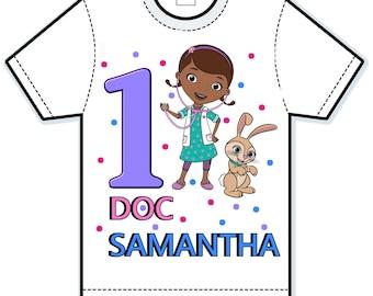 Disney Doc McStuffins birthday shirt
