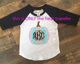 diy monogram shirt, diy monogram heat transfer, diy heat transfer, monogram heat transfer, monogram iron on, monogram thanksgiving