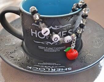 Sherlock Holmes Moriarty IOU Bracelet