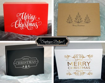 Christmas Gift Boxes, Children's Christmas Boxes, Christmas Gift Box