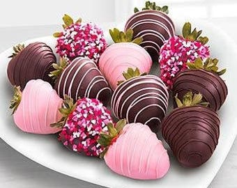 Valentines Day Chocolate Dipped Strawberries