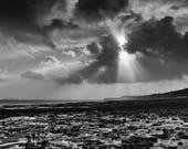 Penarth Beach sunrays...