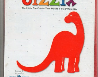 Dinosaur Sizzix Die Cutter Scrapbook Embellishments Cardmaking Crafts
