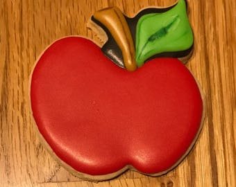 Teachers apple cookie