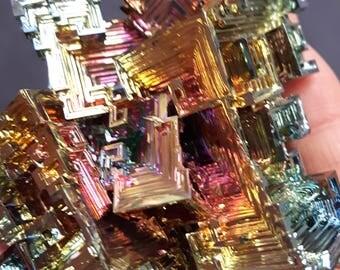 285 Gram Bismuth Crystal Cluster