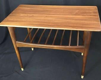 Mid Century Modern Danish Style Coffee Table