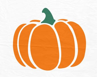 Pumpkin SVG, Pumpkin Cut File, Silhouette Cut File, Cricut Cut Files, Pumpkin Clipart, SVG Files