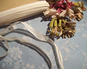 lace, strap, small between two openwork old, braid, 3 meters