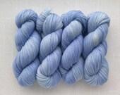 FLANNEL JAMMIES - Hand Dyed Yarn – Choose Weight - Fingering  / Sport / Worsted – Superwash Tonal Yarn