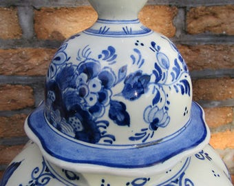 Delft Blue-White Ram/From Holland signed