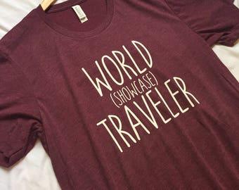 World Showcase Traveler Shirt / Disney Shirt / Epcot Shirt / Men's Disney Shirt / Women's Disney Shirt / Epcot World Showcase / Epcot Center