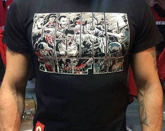 ON SALE, CSKA Sofia, Bulgaria, Fabric, Men's t-shirt.  with the cska logo, new,Sports collectibles, All sizes
