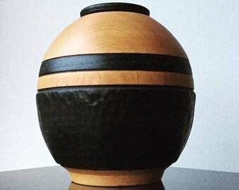 Decorative Cedar vase.
