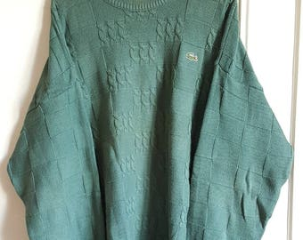 Sweater Lacoste Vintage 90's Made in France size 4 (M).