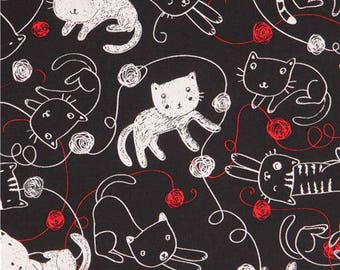 Patchwork fabric Timeless treasures C4105 cat child