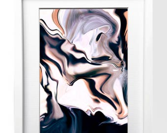Liquid Marble Art Print - Abstract Art Print - Abstract Art - Marble Art - Art Print