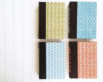 vintage readers digest books / set of four / 4 / blue / green / orange