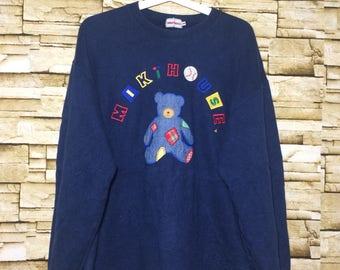 Vintage 90's MIKI HOUSE sweatshirt medium size