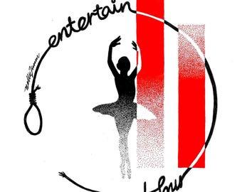 Pointillism Print - Entertain My Faith