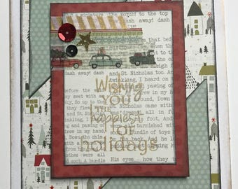 Wishing You the Happiest of Holidays 10 card pack