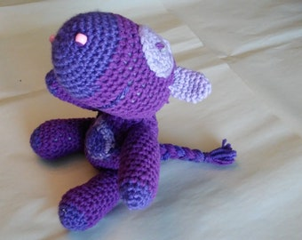 Amigurumi Purple Horse called Patches