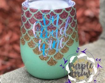Mermaid Wine Cup