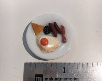1/12th Miniature Full English Breakfast