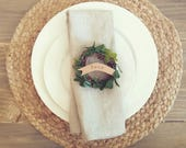 Wreath Place Cards (Set of 6)