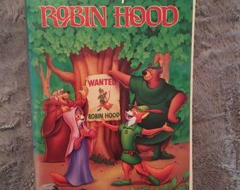 Black Diamond Robin Hood VHS