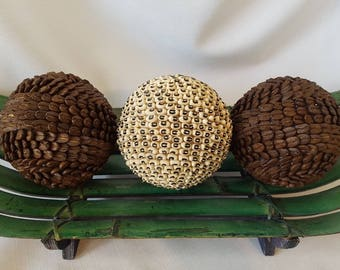 Decorative Balls, Coffee Table Balls, Coffee Beans