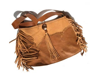 The Western Frontier Fringe Purse
