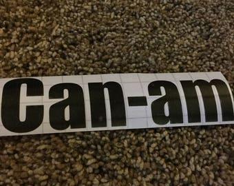 can-am sticker