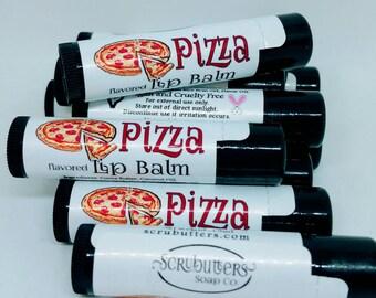Vegan Lip Balm Pizza Flavored