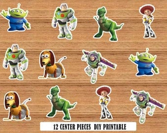 toy story centerpieces instant download