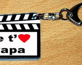CLAP movie you I love dad Keyring