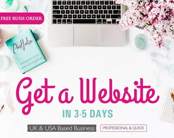 SALE Website Design, Custom Website Design, Wordpress Website, Blogging Website, Business Website, Professional Website Development