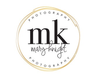 Photographer Logo, Makeup Artist Logo, Makeup Logo, Gold Logo, Lash Artist Logo, Hairstylist Logo, Logo Set, Premade Logo, Logo Design