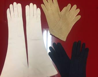 Lot of Vintage Gloves