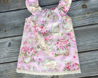 Vintage Tea Party Dress, vintage, toddler dress, baby dress