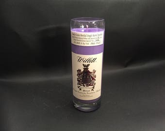 Willett 13 Year Family Estate Bourbon WHISKEY BOTTLE Soy Candle. With/Without Base. Made to Order !!!!!
