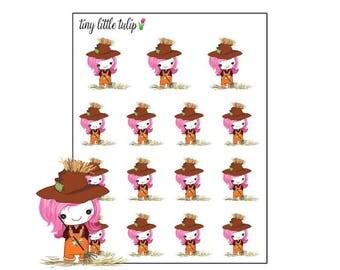 Planner Stickers Unicorn Scarecrow