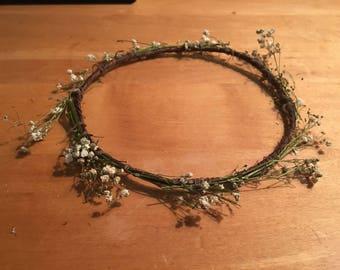 Simple babies floral crown