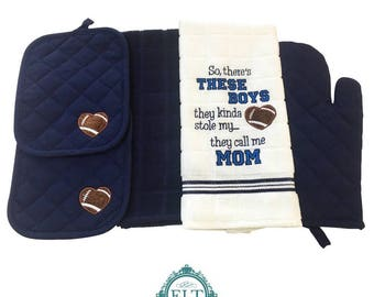 These Boys Kitchen Towel Set